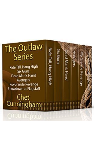 The Outlaw Series – Western Boxed Set by Chet Cunningham