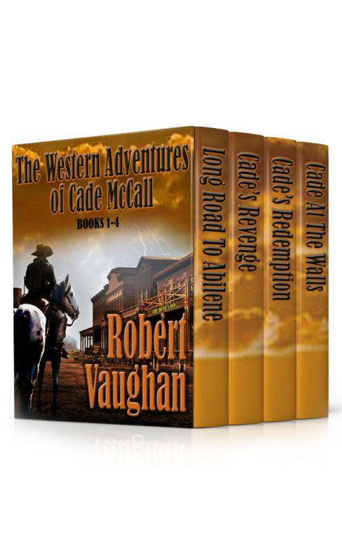 The Western Adventures of Cade McCall Box Set, Volumes 1-4